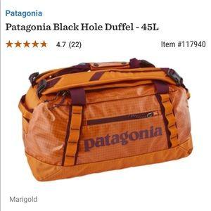 Patagonia Bags - Patagonia Black Hole Duffel Bag
